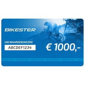 Bikester cadeaubon 1000 €